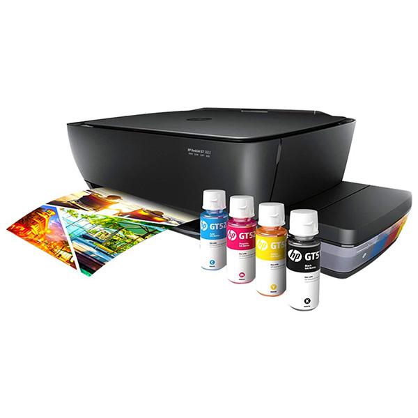 Multifuncional HP Deskjet GT 5822 Tanque de Tinta – Colorida LCD Wi-Fi USB